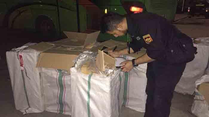 Ratusan Ribu Batang Rokok Ilegal Digagalkan Bea Cukai di Natar Lampung Selatan
