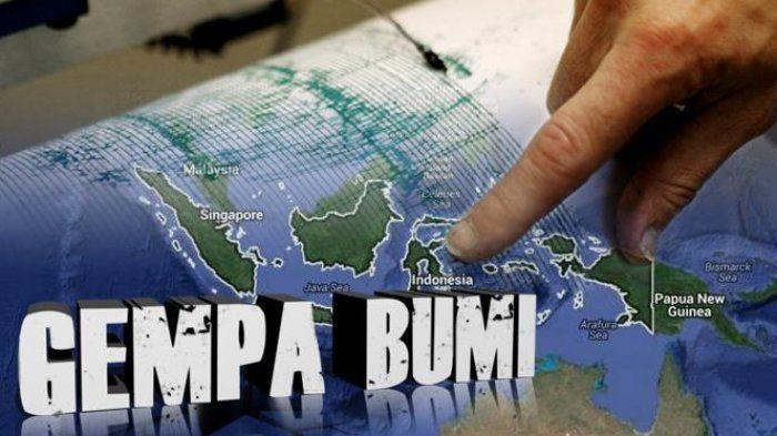 Gempa M=4,4 Guncang Lampung Utara, Ini Penyebabnya menurut BMKG