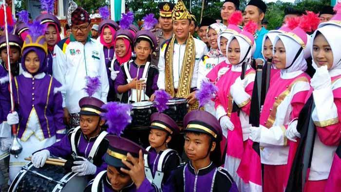 Buka LSN 2018 di Pesisir Barat Lampung, Ini Harapan Menpora kepada Santri