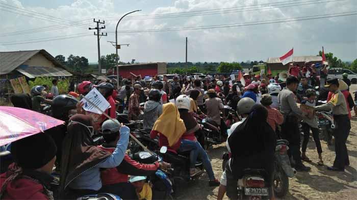 Hari Buruh, Agra Lampung: Berikan Hak Konstitusional Warga Moro-Moro