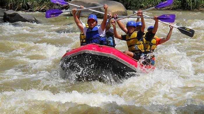 Arung Jeram Way Besai Lampung Barat, Wisata Alam Menantang Adrenalin