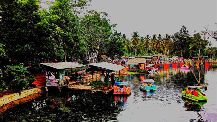 Danau Kemuning Sribawono Lampung Timur, Tempat Rekreasi Keluarga Yang Asri