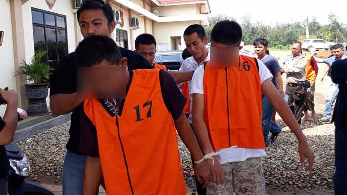 Dua Pemuda Ditangkap Di Pesawaran, 11 Kali Nodong Pakai Softgun