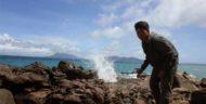 Pantai Wartawan Lampung Selatan, Kombinasi Unik Air Laut dan Air Panas