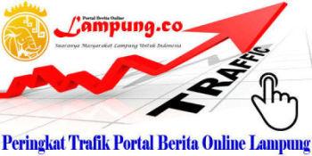 Peringkat Trafik Portal Berita Online Lampung