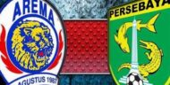 Jadwal Big Match Liga 1 Persebaya vs Arema Berubah