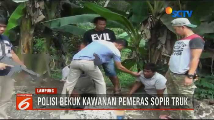 Pungli Sopir di Lampung