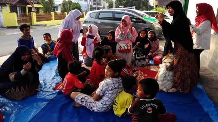 ACT Lampung Berbagi Kebahagiaan Bersama Anak Jalanan