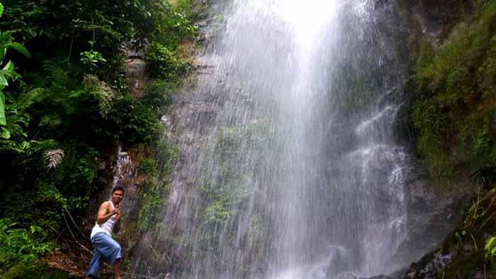 Pesona Air Terjun Mabar Jaya Way Tenong yang Tersembunyi