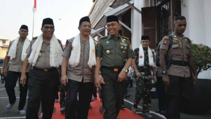 Kapolri bersama Panglima TNI