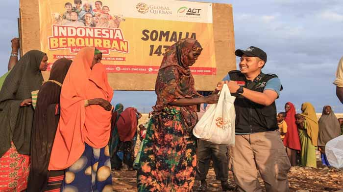 Berbagi Kebahagiaan Hingga Ke Afrika, ACT Siap Salurkan Daging Qurban