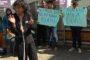 BEM Unila Sambut Kedatangan Mendagri dengan Aksi Teatrikal
