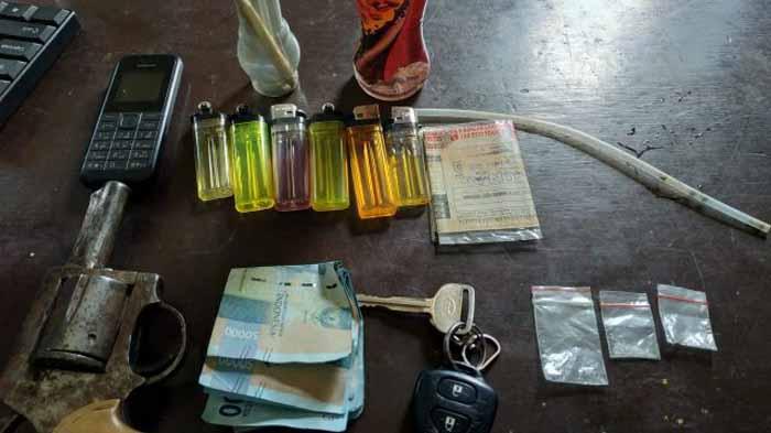 Polres Lampung Barat Ungkap Kasus Narkoba Tiktok