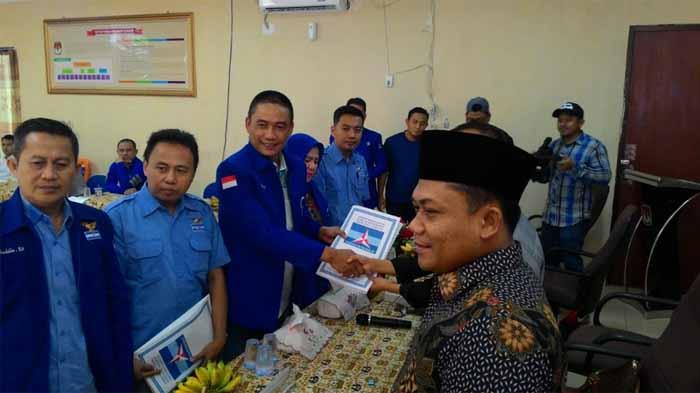 Demokrat Lampung Daftarkan Caleg ke KPU