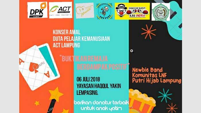 Konser Amal ACT Lampung