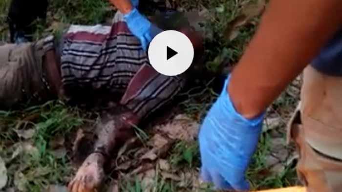 Heboh Penemuan Mayat Tanpa Identitas di Kalibalangan Lampung Utara