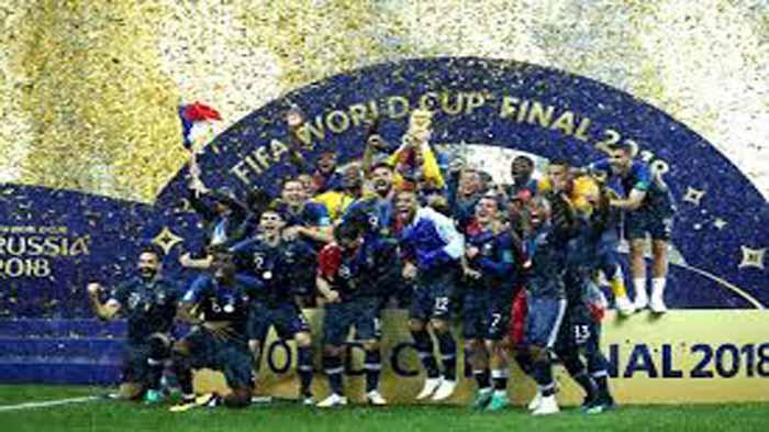 Bantai Kroasia, Prancis Angkat Trophy Piala Dunia 2018