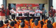 Operasi Antik Krakatau 2018, Polres Lampura Amankan 24 Tersangka Narkoba