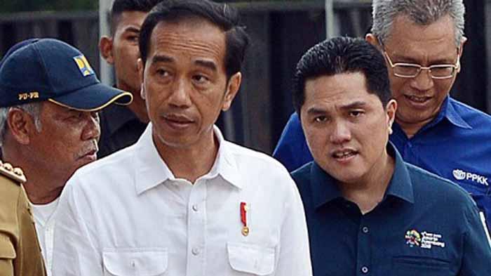 Jokowi - Erick Thohir