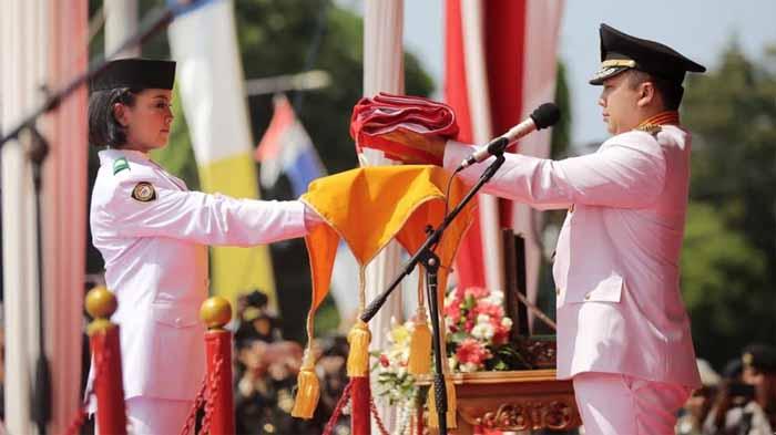 Peringatan HUT RI ke 73, Gubernur Ridho: Isi Kemerdekaan dengan Pembangunan