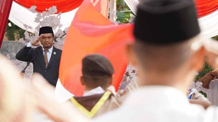 Upacara HUT RI ke 73, PKS Lampung Tinggikan Jiwa Nasionalisme
