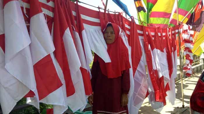 Pedagang Bendera Musiman