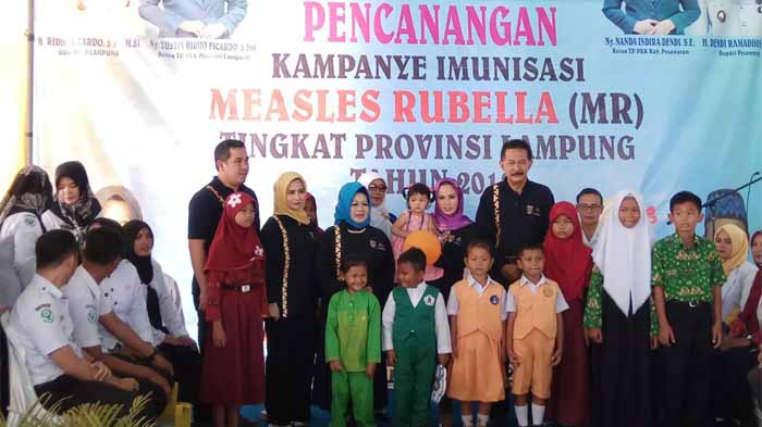 Lindungi Masyarakat dari Campak dan Rubella, Pemprov Kampanye Imunisasi MR