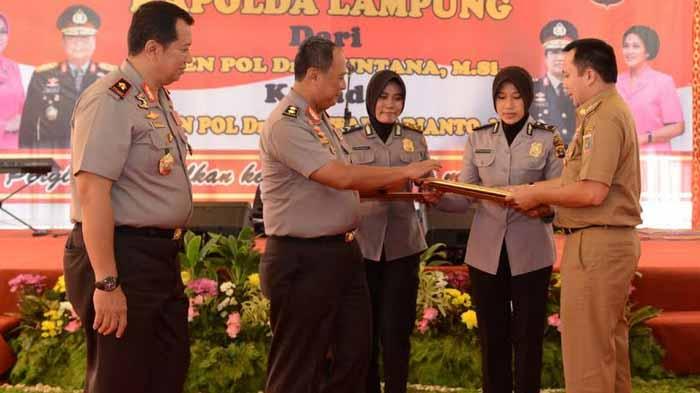 Pisah Sambut Kapolda Lampung