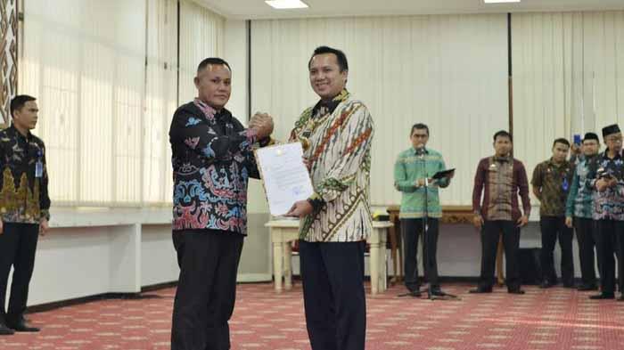 Gubernur Lampung Serahkan Surat Tugas Plt Bupati Lampung Selatan