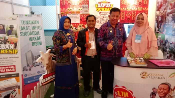 FESyar 2018, Wakil Walikota Bandar Lampung Kunjungi Stand ACT Lampung