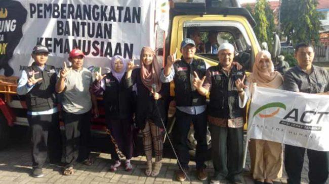 Lagi, ACT Berangkatkan Bantuan Kemanusiaan 'Lampung Bersama Lombok'