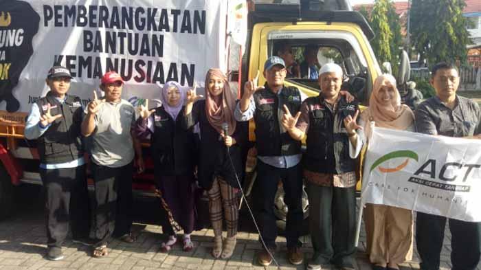 Aksi Cepat Tanggap Sediakan Hunian Layak Bagi Pengungsi Lombok