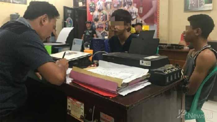 Bermain Dengan Sabu-Sabu, Dua Pemuda diamankan Polres Lampung Utara