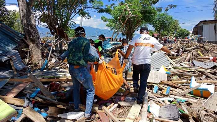 Gempa dan Tsunami Sulteng, Tim ACT: Proses Evakuasi Jenazah Korban Terkendala