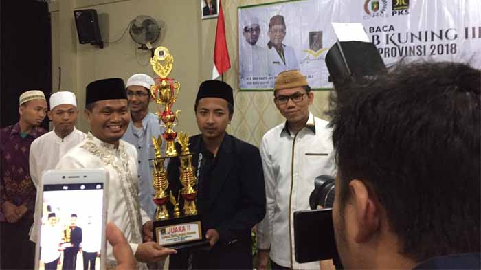 Santri Lampung Timur Juarai Lomba Baca Kitab Kuning III Fraksi PKS DPRD Lampung