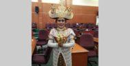Pakaian Adat Lampung Jadi Kostum Terbaik di Acara HUT DPRD Depok