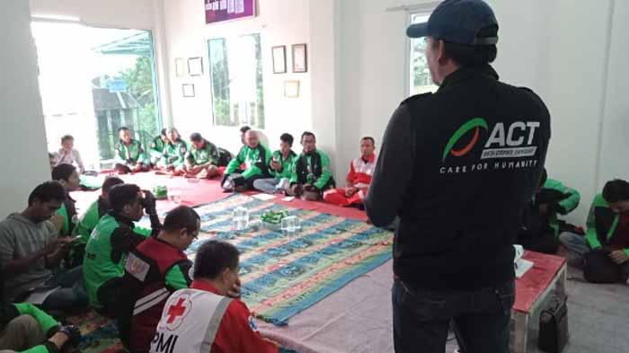 ACT Lampung Gelar Pelatihan Pertolongan Pertama Bersama PMI dan Gaspool