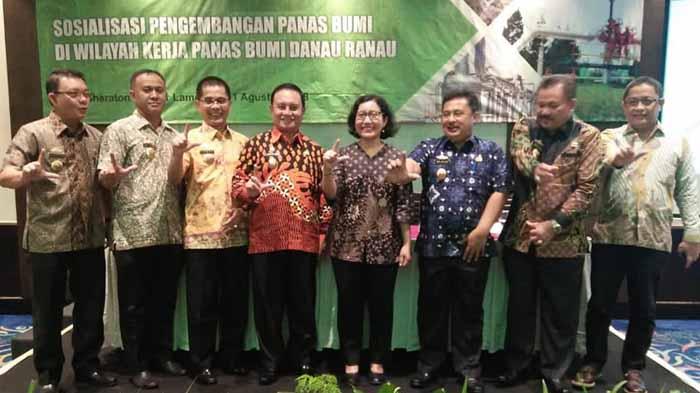 Lampung Barat Dukung Pengembangan Panas Bumi Danau Ranau
