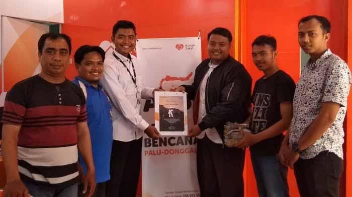 BKPRMI Panjang Salurkan Bantuan Untuk Korban Gempa melalui Rumah Zakat