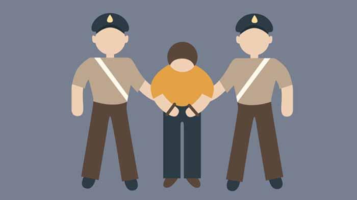 Ditangkap Polisi