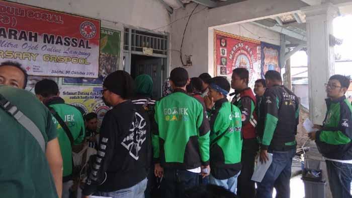 Acara Donor Darah Gaspool Lampung Diikuti 150 Peserta
