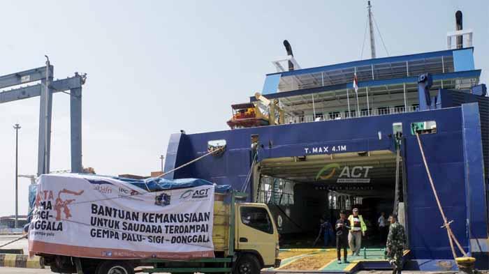 Kapal Kemanusiaan Tahap Dua untuk Palu Telah Berlayar, Bawa 750 ton Logistik