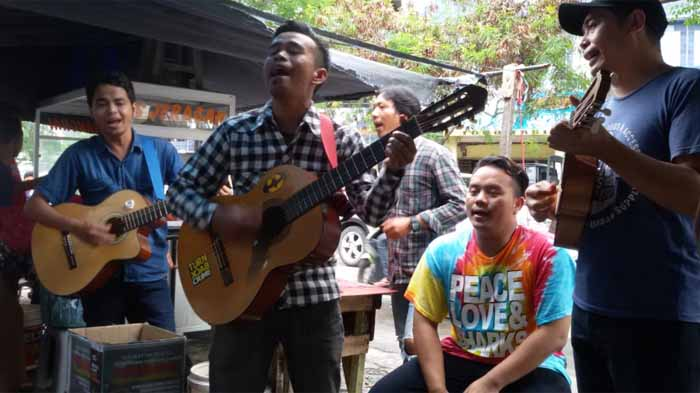 Komunitas Musisi Jalanan Lampung