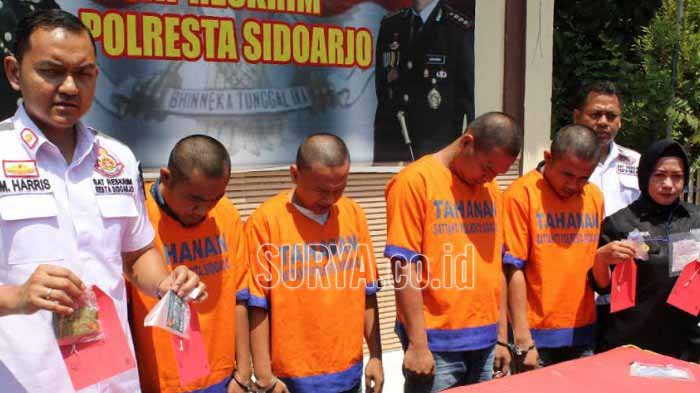 Bobol ATM di Jawa Timur, Empat Warga Lampung Diamankan Polisi