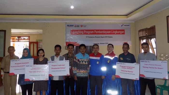 Rumah Zakat Lampung Launching Program Lingkungan di Kelurahan Panjang Utara