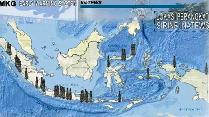 Sirene Tsunami di Lampung