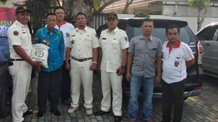 Wali Kota Metro Lepas 1,2 ton Beras Hasil Penggalangan PPI Untuk Korban Gempa
