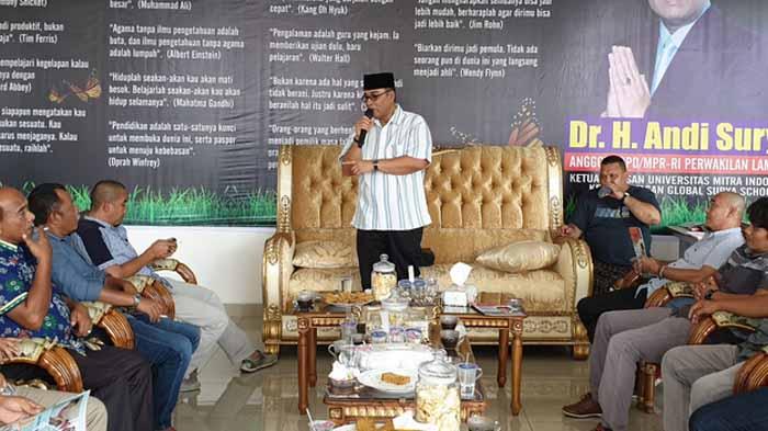 Terima Kunjungan Apdesi Pesibar, Andi Surya: Eksekusi DD Libatkan 'Stakeholder' Desa
