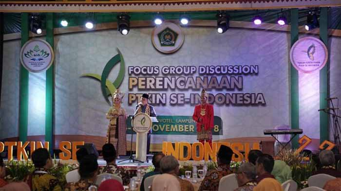 UIN Raden Intan Tuan Rumah FGD Perencanaan PTKIN se Indonesia