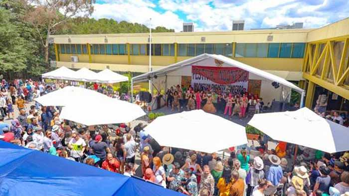 Tarian Khas Lampung Turut Sukseskan Festival Indonesia di Australia